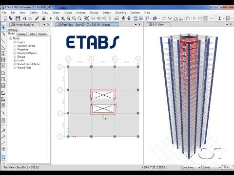 Etabs screen