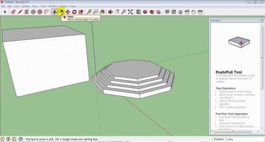 تصویری از محیط آموزش اسکچاپ 2