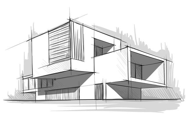 ۱۵ درس آموزش اسکیس، راندو و پرسپکتیو معماری+کتاب PDF (مقدماتی-حرفه ای) - جالب آموز