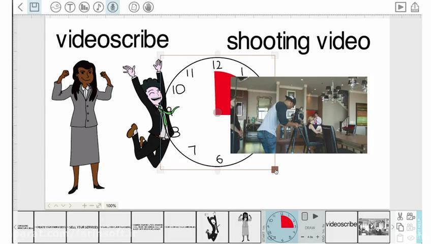 تصویر از آموزش ساخت انیمیشن در نرم افزار  Videoscribe Whiteboard