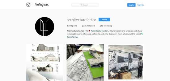 پیج معماری اینستاگرام