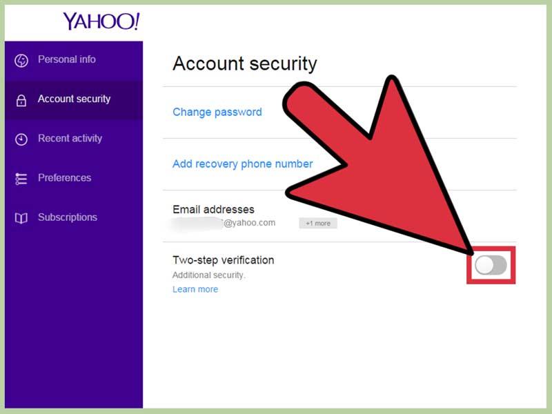 تصویر از قسمت بازیابی ایمیل یاهو کجاست؟ چطور به راحتی ایمیلم را ریکاوری کنم؟