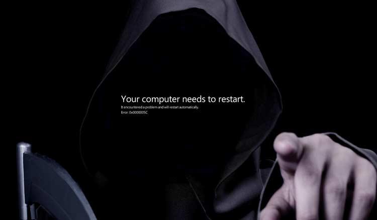 تصویر از ۴ علت اصلی بالا نیامدن ویندوز و صفحه سیاه و ساده ترین راه حل