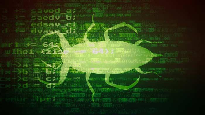 باگ در کامپیوتر