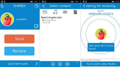 shareit-app-screens