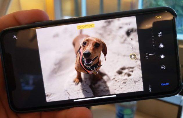 CNBC Tech: iOS 12 Portrait Mode