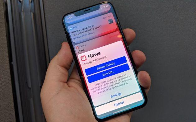 iOS 12 Notifications