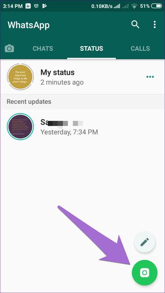 Whatsapp Status Tips 11