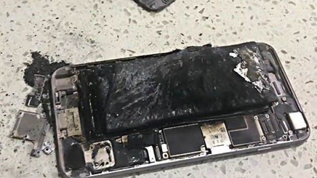 How to cool down a hot iPhone: Exploded iPhone