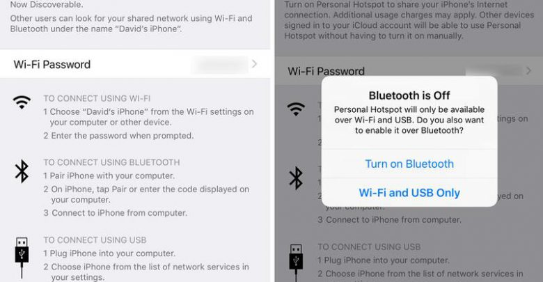 How to turn your iPhone into a Wi-Fi hotspot: iOS Settings
