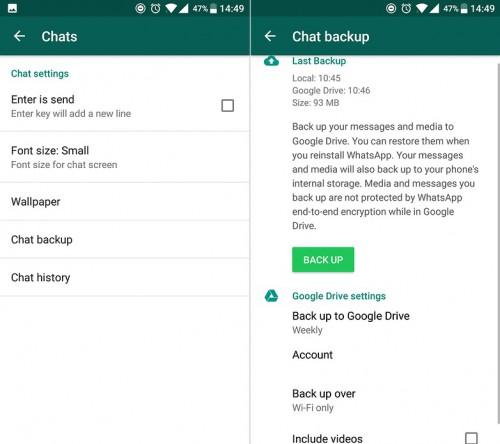 Whatsapp tips and tricks-restore whatsapp