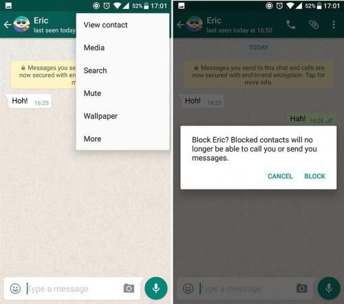 Whatsapp tips and tricks-WhatsApp blocking