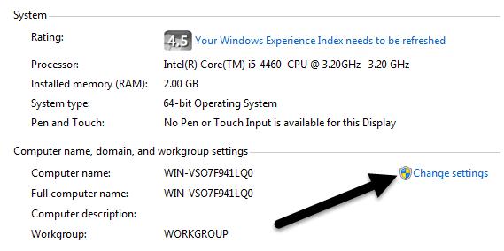 windows 7 change name