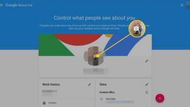 تصویر از ساده ترین روش تغییر عکس پروفایل در حساب کاربری جیمیل