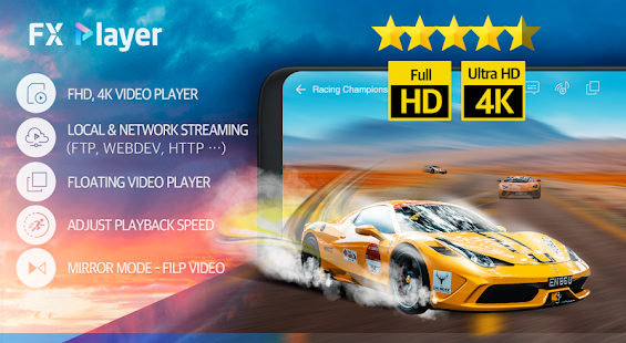FX Player - video player, media, network, floating Screenshot