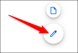 Click on the blue pencil to create a new document