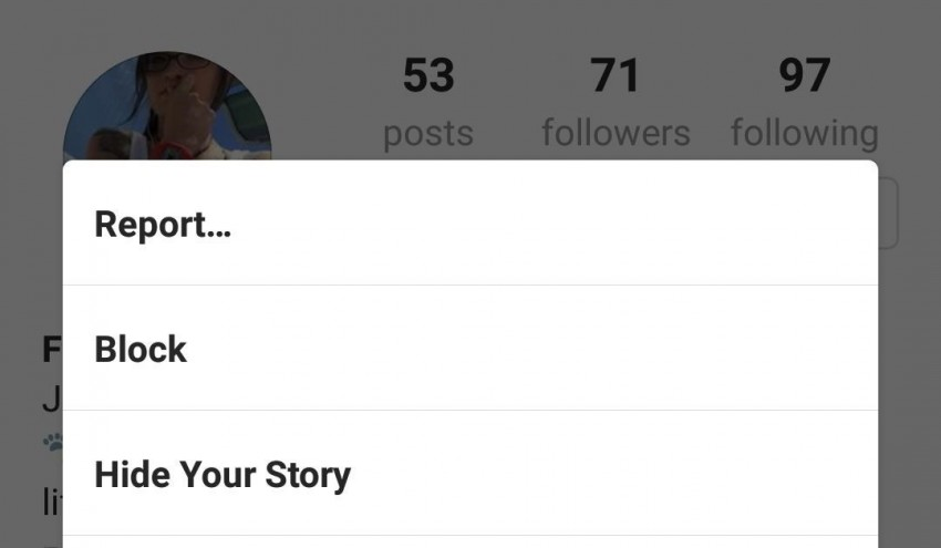 Report a hacked account to Instagram