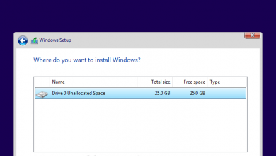 تصویر از چگونگی پارتیشن بندی در ویندوز ۱۰ بدون استفاده از نرم افزار