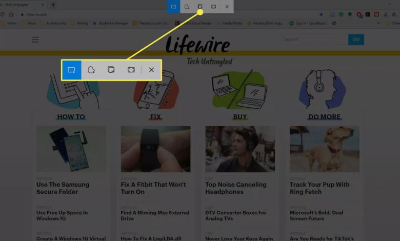اسکرین شات ویندوز 5