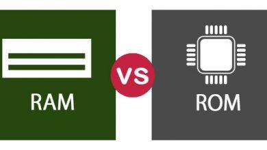 مقایسه رم و رام