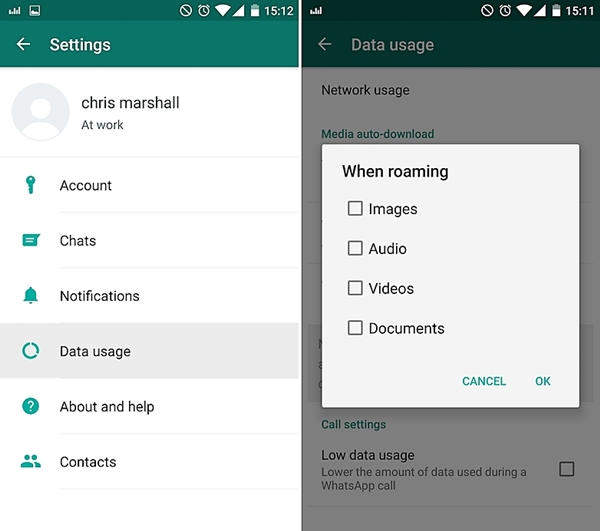fix whatsapp problems-Can't download WhatsApp media content