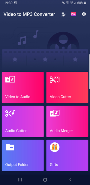 video converter apps for Android- inshot