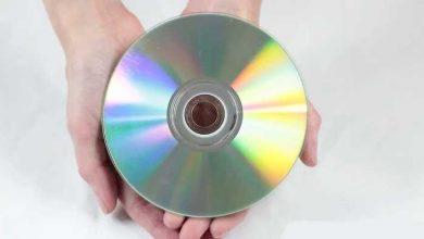 درست کردن سی دی خش دار