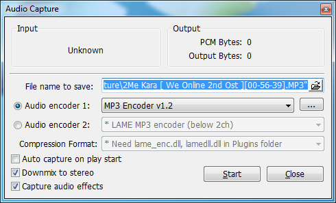 Convert FLAC to MP3 Using KMPlayer
