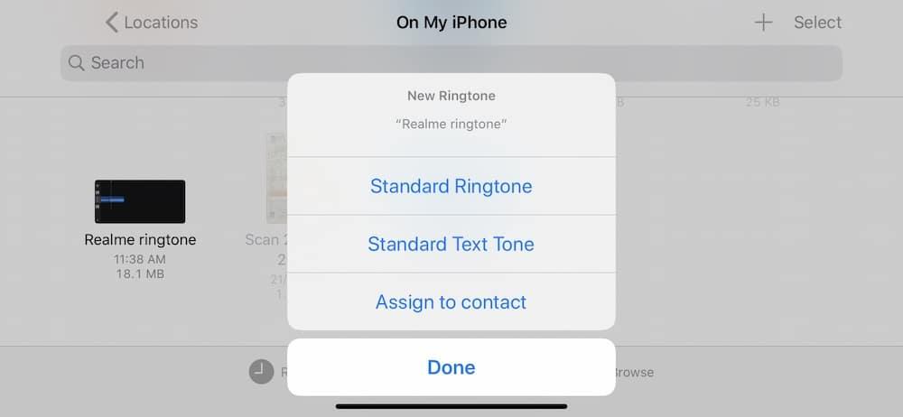 Garageband - Standard Ringtone