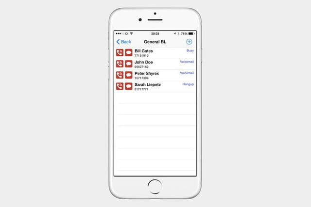 how to block calls on an apple iphone iblacklist ios 3