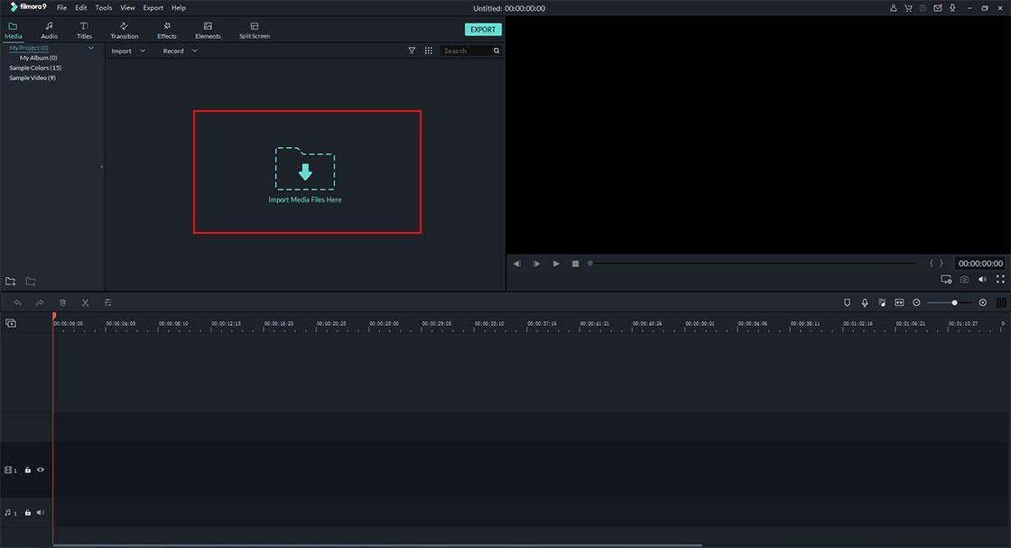 import video files