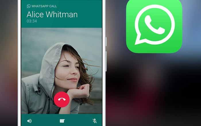 تماس در واتساپ