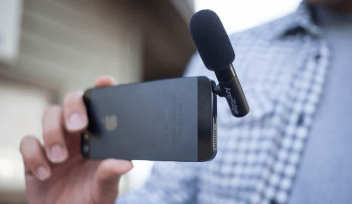 گوشی تبدیل شده به میکروفون