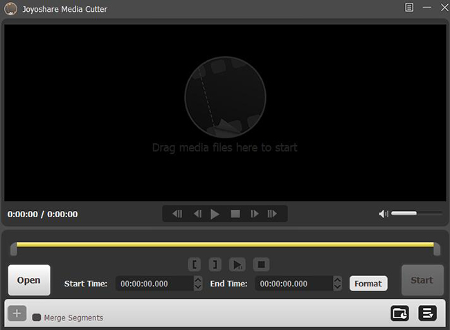 add video to joyoshare media cutter