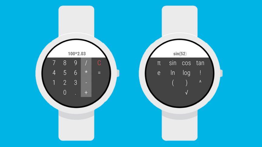 آلة حاسبة لـ Wear OS