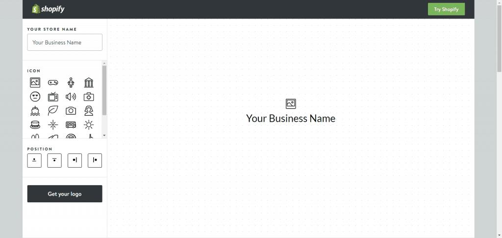 Shopify Online Free Logo Generator
