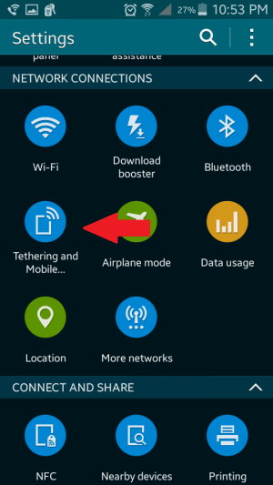 Tethering and Mobile HotSpots