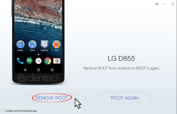 Unroot with Kingo ROOT