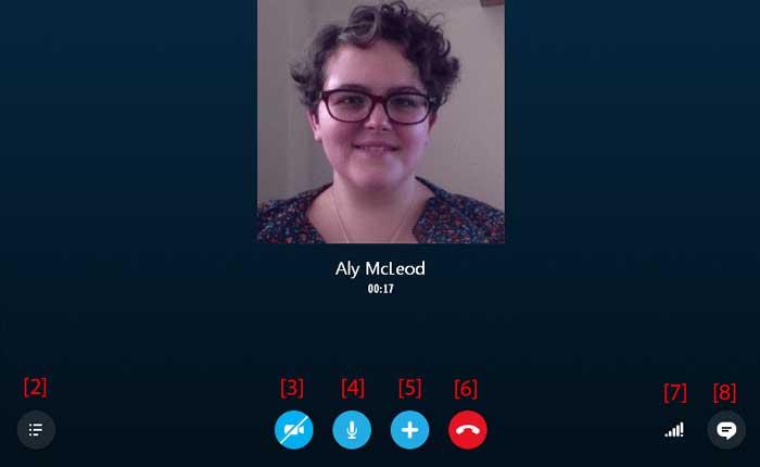 تماس اسکایپ