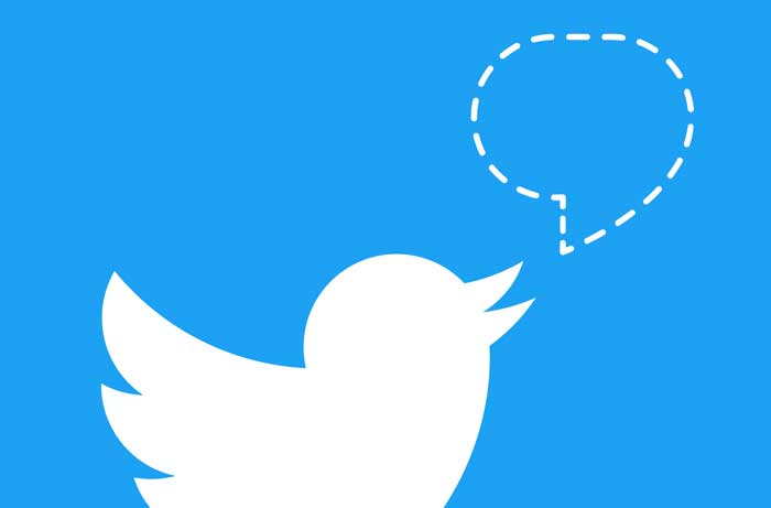 توییتر علامت