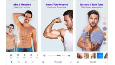 ویرایش بدن در موبایل