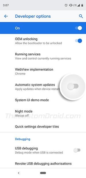 قم بتثبيت تحديثات OTA على أجهزة Android التي تم جذرها - قم بتعطيل تحديثات النظام التلقائية