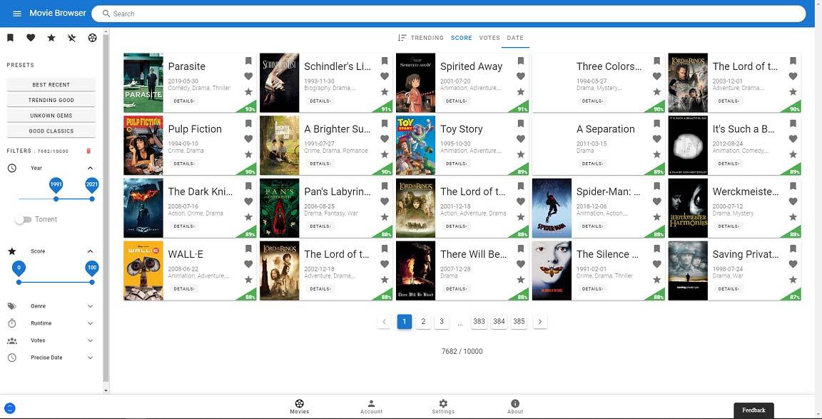 Internet Movie Browser