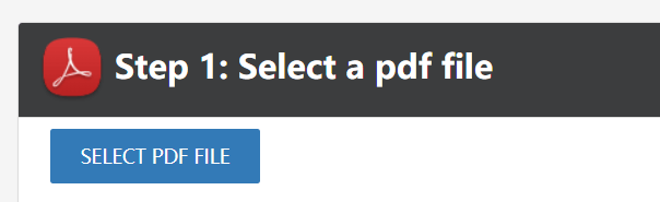 PDFaid Extract Images Upload