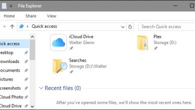 تصویر از نحوه پاک کردن هیستوری و Recent Files در ویندوز ۱۰، ۸، ۷