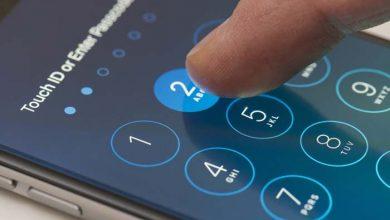 در حال باز کردن قفل گوشی اندروید