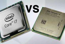 تصویر از تفاوت بین سی پی یو Intel و AMD چیست؟ کدام بهتر است؟