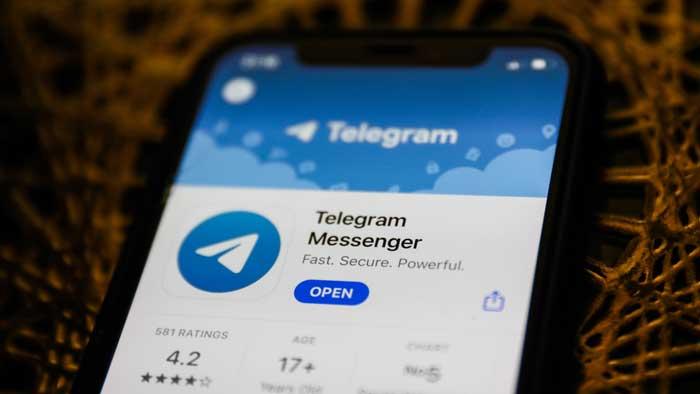 working with telegram