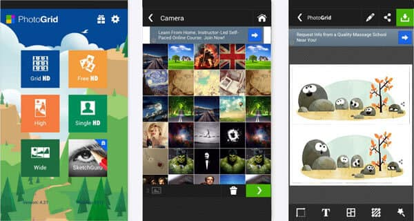 Combine Pictures with Photo Grid