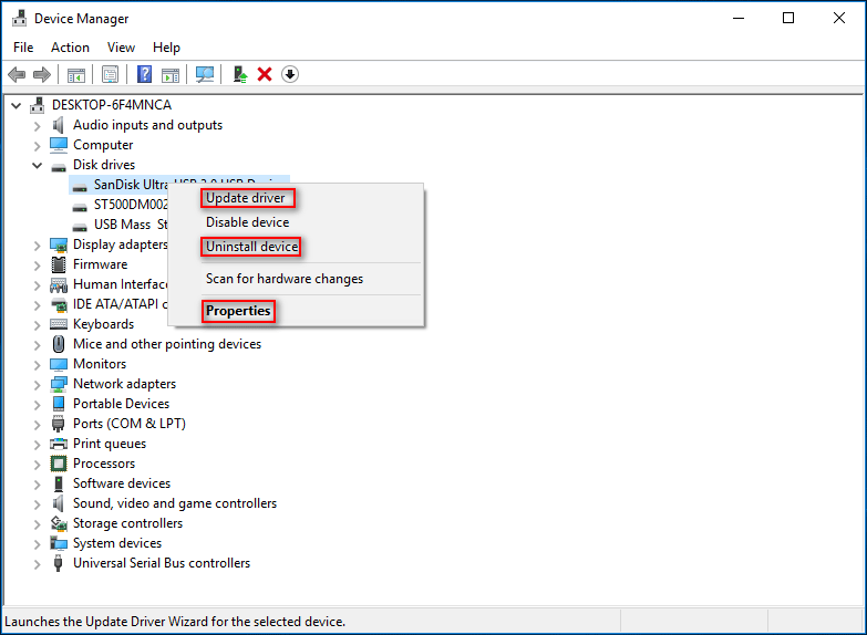 fix device driver issues